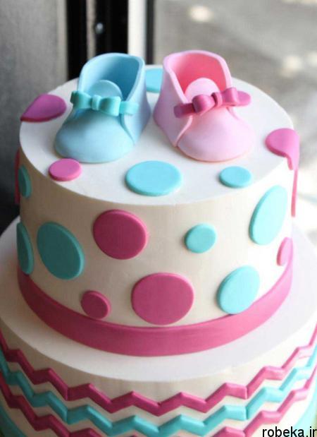 determination1 cake7 مدل کیک تعیین جنسیت جنین