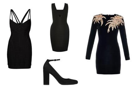 dressed2 black clothing1 چگونه با لباس های مشکی شیک پوش شویم؟