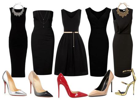 dressed2 black clothing2 چگونه با لباس های مشکی شیک پوش شویم؟