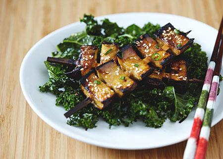 eggplant diet recipe 01 5 روش طرز تهیه غذای رژیمی با بادمجان