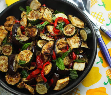 eggplant diet recipe 03 5 روش طرز تهیه غذای رژیمی با بادمجان