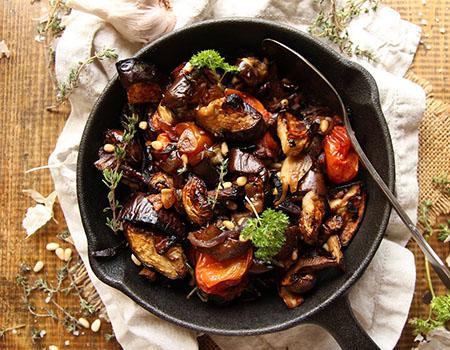 eggplant diet recipe 04 5 روش طرز تهیه غذای رژیمی با بادمجان
