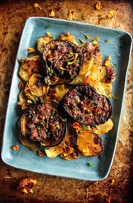 eggplant diet recipe 05 5 روش طرز تهیه غذای رژیمی با بادمجان