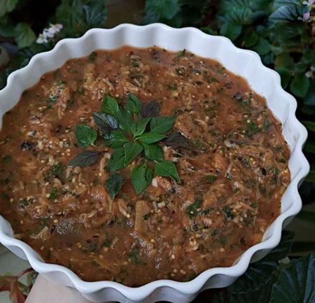 eggplant diet recipe 06 5 روش طرز تهیه غذای رژیمی با بادمجان