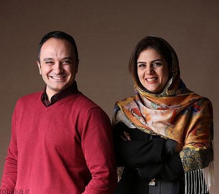 ehsan karami actor24 بیوگرافی احسان کرمی + عکس های همسرش