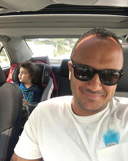 ehsan karami actor25 بیوگرافی احسان کرمی + عکس های همسرش