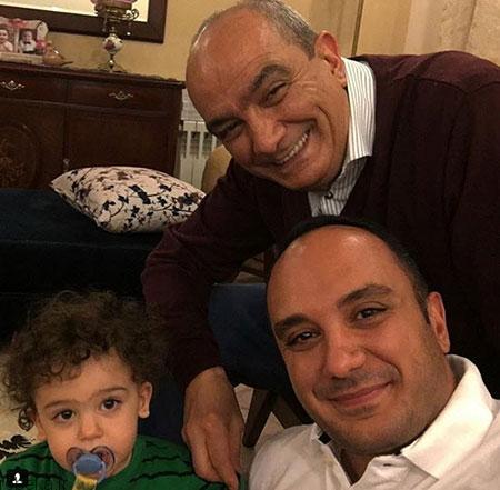 ehsan karami actor29 بیوگرافی احسان کرمی + عکس های همسرش