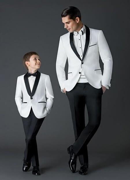 عکس های ست پدر و پسر, مدل های ست پدر و پسر, زیباترین ست های پدر و پسر