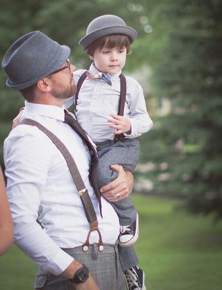 شیک ترین ست پدر و پسر, ست های پدر و پسر, عکس های ست پدر و پسر