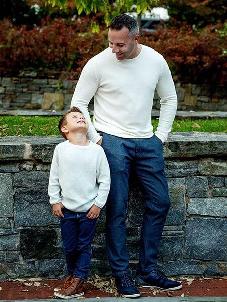 مدل های ست پدر و پسر, زیباترین ست های پدر و پسر, ست های جدید پدر و پسر