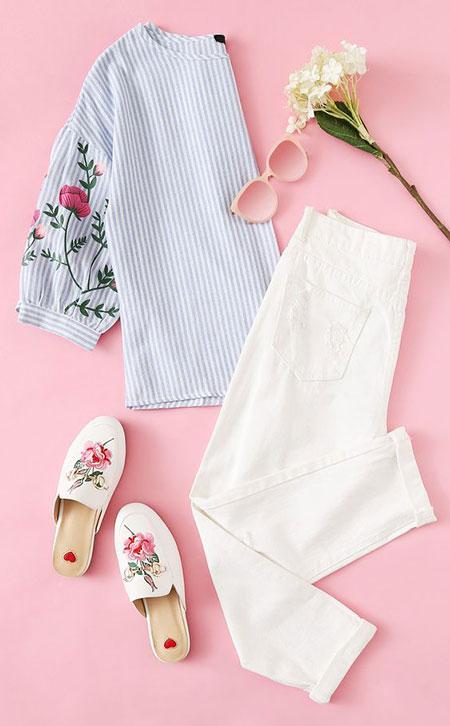 مدل لباس های تابستانی,ست لباس تابستانی زنانه