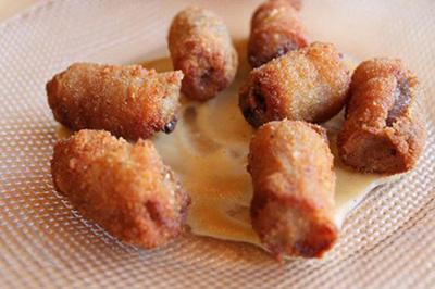 fo4462 طرز تهیه خرما سرخ شده