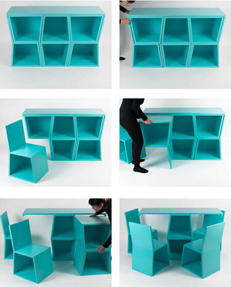 folding2 table2 chair8 شیک ترین مدل میز و صندلی تاشو