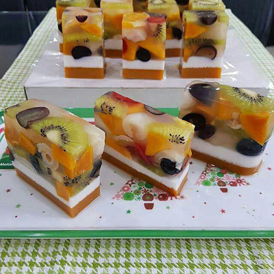fruit2 dessert طرز تهیه دسر میوه ای