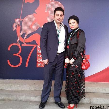 fun1022 12 عکسهای جدید نیوشا ضیغمی و همسرش