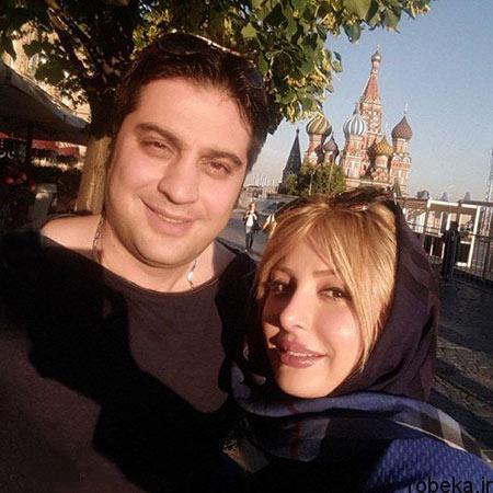 fun1022 9 عکسهای جدید نیوشا ضیغمی و همسرش