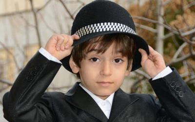 fun2118 4 بیوگرافی عرفان برزین بازیگر خردسال ایرانی