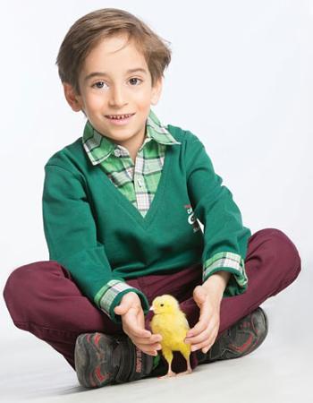 fun2118 بیوگرافی عرفان برزین بازیگر خردسال ایرانی