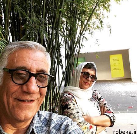fun2159 1 بیوگرافی مسعود رایگان + عکس همسرش