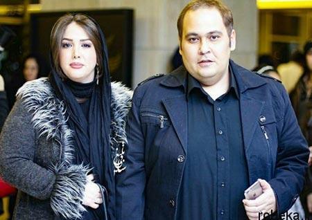 fun2198 7 بیوگرافی رضا داوود نژاد + تصاویر رضا داوود نژاد و همسرش