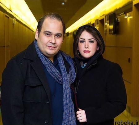 fun2198 8 بیوگرافی رضا داوود نژاد + تصاویر رضا داوود نژاد و همسرش