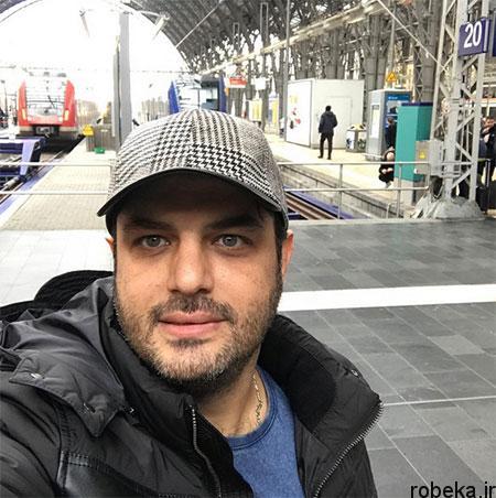 fun2220 8 تصاویری جدید سام درخشانی + عکس همسرش