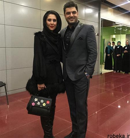 fun2220 9 تصاویری جدید سام درخشانی + عکس همسرش