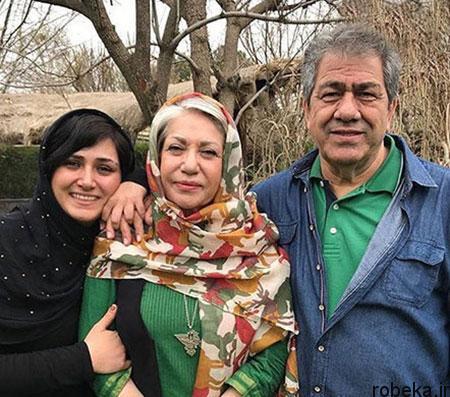 fun2225 2 عکس بازیگران در کنار پدر و مادرهایشان
