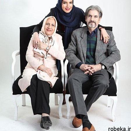 fun2225 4 عکس بازیگران در کنار پدر و مادرهایشان