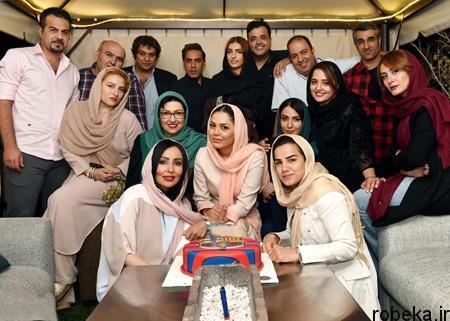 fun619 عکس های دیدنی از بازیگران در جشن تولد