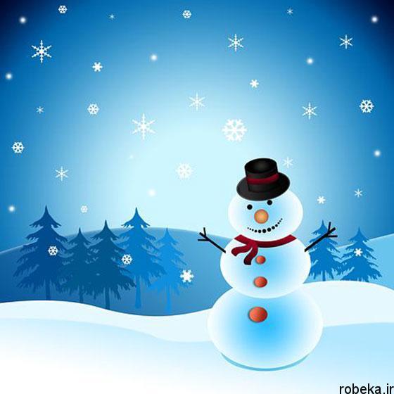 funny cartoon snowman photos 11 عکس های فانتزی از آدم برفی های کارتونی و عروسکی