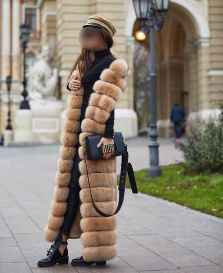 fur1 coat1 model14 مدل جدید پالتو خزدار
