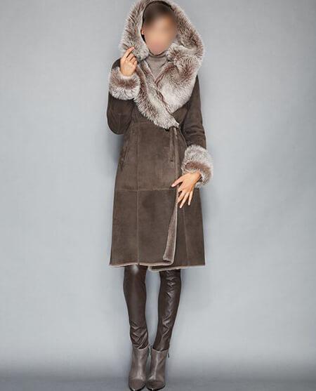 fur1 coat1 model5 مدل جدید پالتو خزدار