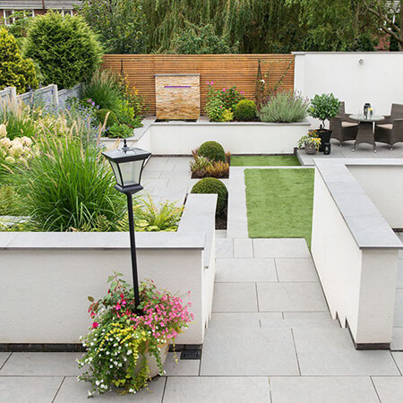 garden3 landscaping1 محوطه سازی باغ چگونه انجام می شود؟
