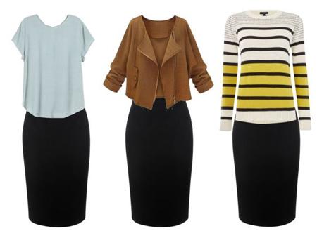 نکته هایی برای انتخاب لباس, لاغر نشان دادن با لباس