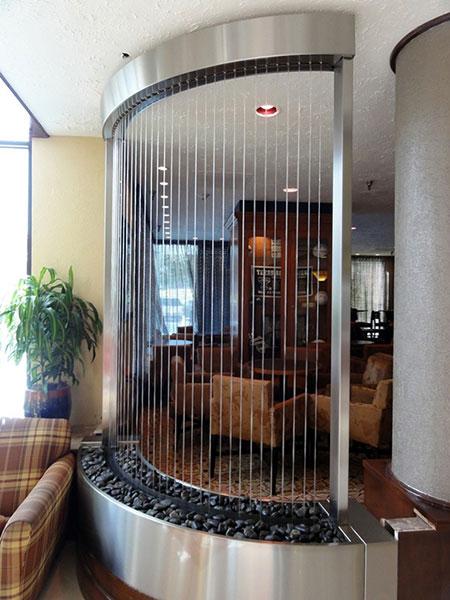 مدل های آبنماهای شیشه ای, ایده هایی برای آبنما شیشه ای