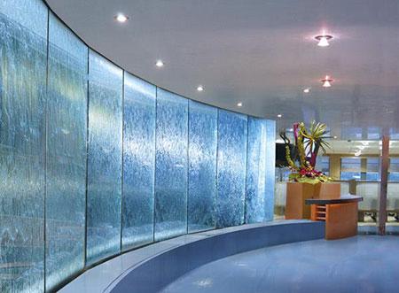 طراحی جدیدترین آبنماهای شیشه ای, ایده هایی برای آبنماهای شیشه ای