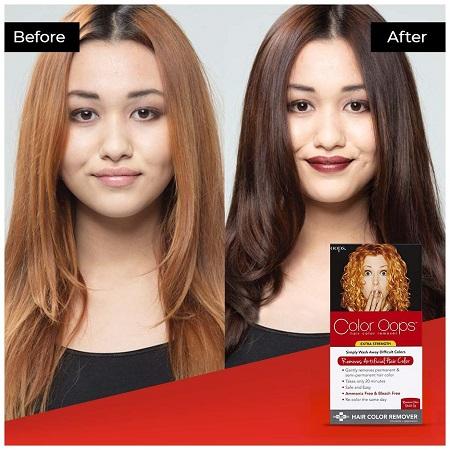 hair color remover 01 ریموور مو چیست و نحوه پاک کردن رنگ مو با ریموور