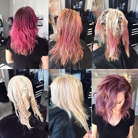 hair color remover 05 ریموور مو چیست و نحوه پاک کردن رنگ مو با ریموور