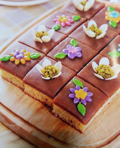halva1 cake طرز تهیه حلوا کیک