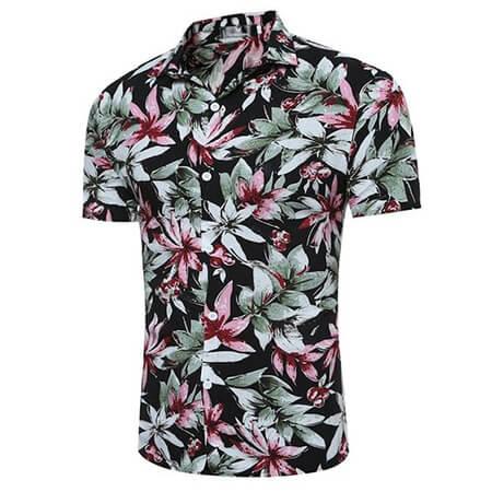 مدل پیراهن های هاوایی مردانه, مدل های پیراهن هاوایی