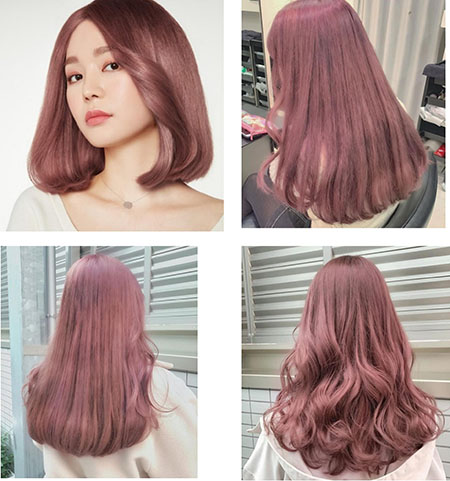 ترکیب رنگ مو فندقی, انواع ترکیب رنگ مو فندقی, رنگ مو فندقی