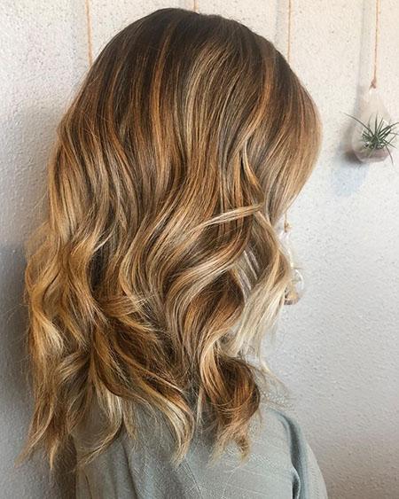 رنگ مو فندقی صورتی, ترکیب رنگ مو فندقی, انواع ترکیب رنگ مو فندقی