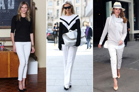 مدل لباس سفید,شیک ترین ست های سفید