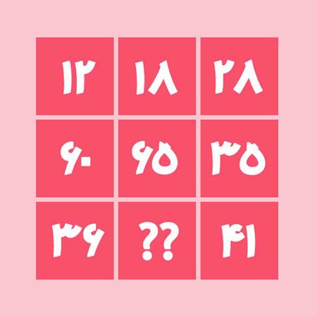intelligence testing 3 1 تست هوش: عددسازی منطقی!