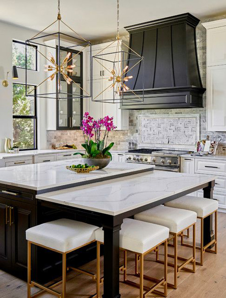 kitchen2 island3 table14 مدل میز جزیره اشپزخانه مدرن