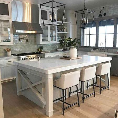 kitchen2 island3 table2 مدل میز جزیره اشپزخانه مدرن