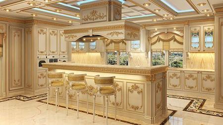 kitchen2 island3 table9 مدل میز جزیره اشپزخانه مدرن