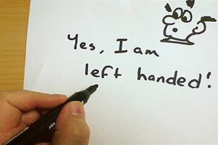 left handed2 world pictures10 کارت پستال های روز جهانی چپ دست
