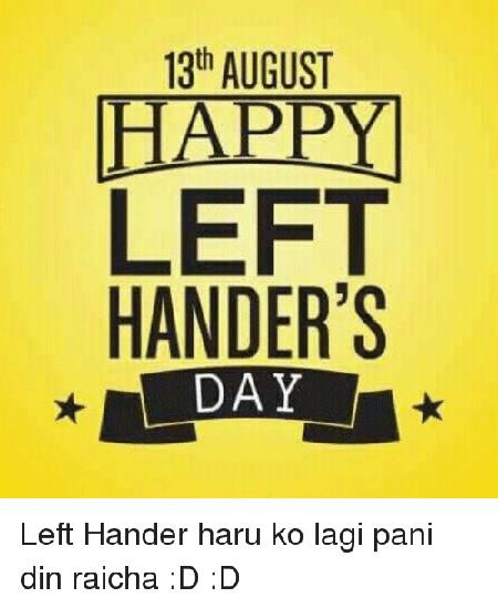left handed2 world pictures4 کارت پستال های روز جهانی چپ دست